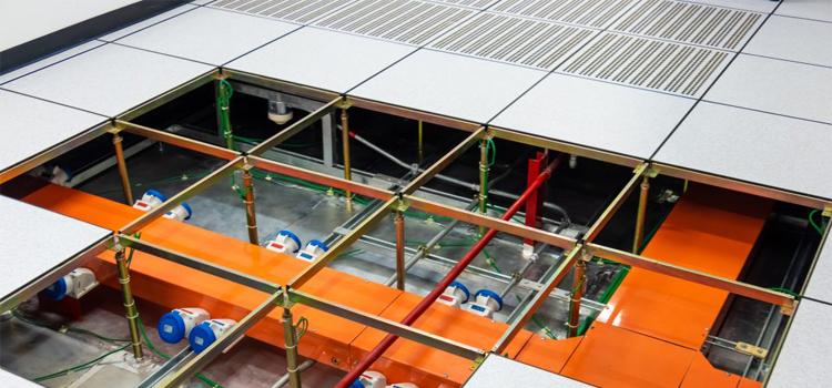 Raised-floor-data-center
